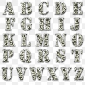 Alphabet Collection - Alphabet Letter Jewellery DeviantArt PNG