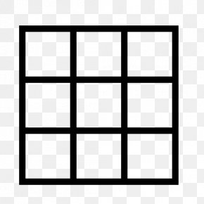 Black And White Grid - Magic Square Safety Net Rectangle Mathematics PNG