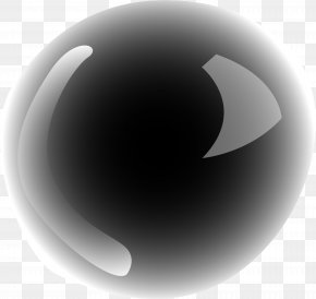Little Fresh Black Circle - Black Circle Light PNG