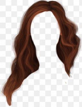 Brown Curly Wig Dress - Brown Hair Wig Hairstyle PNG