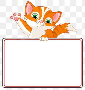 Text Box - Cat Kittens Today Santa Claus Clip Art PNG