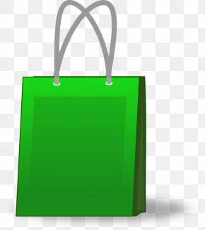 Green Shopping Bag Clip Art - Shopping Bag Clip Art PNG