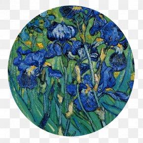 Vincent Van Gogh - Irises Van Gogh Self-portrait Wheatfield With Crows Painting Artist PNG