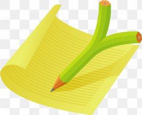 Notebook,Paper - Paper Pencil Designer PNG