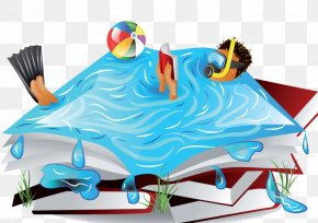 Summer Break - Book Stock Photography Clip Art PNG