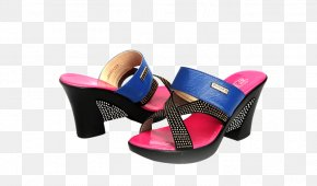 Joker Sandals Trend - Slipper Sandal Joker High-heeled Footwear PNG