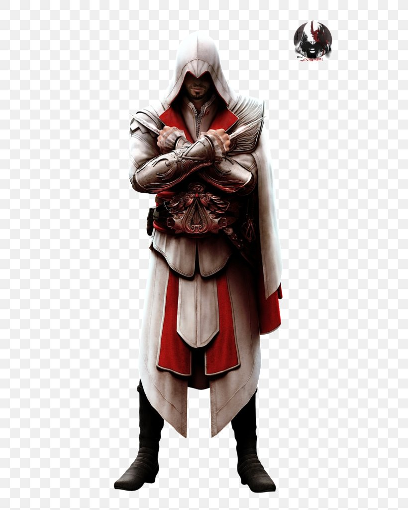 Assassin's Creed: Brotherhood Assassin's Creed III Assassin's Creed: Revelations Ezio Auditore, PNG, 799x1024px, Ezio Auditore, Action Figure, Armour, Assassins, Character Download Free