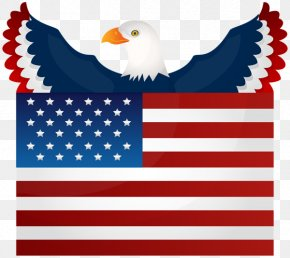 United States - Flag Of The United States Bald Eagle National Flag PNG