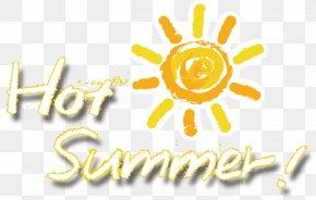 Great Summer Sun - Logo Brand Yellow Font PNG