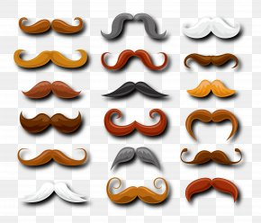Father's Day Decoration Beard - Moustache Hipster Beard Barber Hairdresser PNG