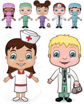 Doctors And Nurses - Child Physician Clip Art PNG
