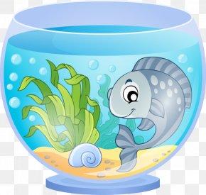 Aqurium Flyer - Goldfish Aquarium Clip Art Vector Graphics PNG