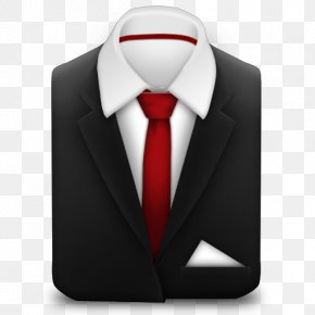 Tie Transparent - Suit Necktie Icon Black Tie PNG