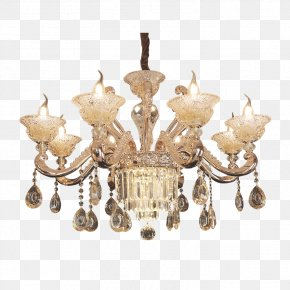 Europe And The United States High Bedroom Bedroom Living Room Chandeliers - Chandelier Bedroom Living Room Lamp PNG