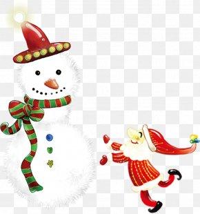 Santa Snowman Hug Joy Pattern - IPhone 5 IPhone 4 IPhone 3GS Santa Claus Christmas PNG
