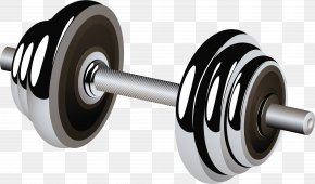 Barbell - Barbell Weight Training Dumbbell Physical Fitness PNG