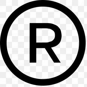 R - Registered Trademark Symbol Service Mark Copyright PNG