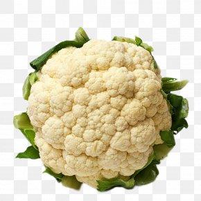 Cauliflower Cartoon - Organic Food Vegetable Cauliflower Fruit PNG