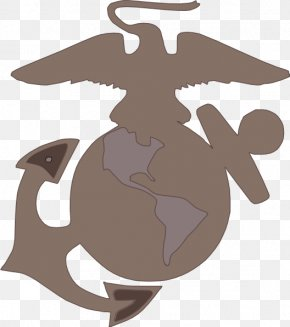 Military - The United States Marine Corps Eagle, Globe, And Anchor Military Clip Art PNG