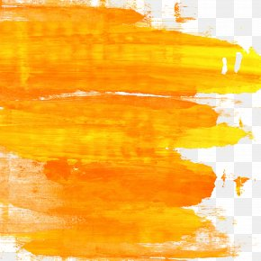 Orange And Yellow Watercolor Graffiti HQ Pictures - Paper Watercolor Painting Yellow PNG
