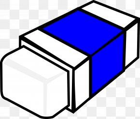 Eraser - Eraser Pencil Black And White Clip Art PNG