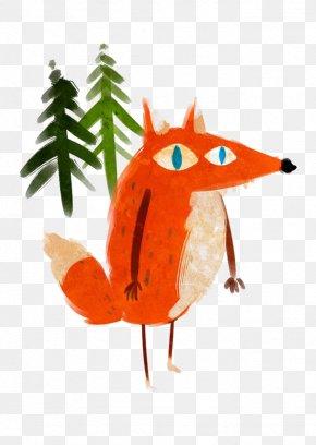 Graffiti Fox - Fox Dog Canidae Illustration PNG