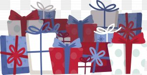 Heaped Gifts - Gift Christmas Computer File PNG