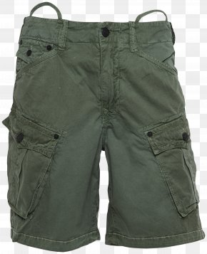 New Arrival - Bermuda Shorts Pants Pocket Khaki PNG