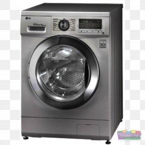 Washing Machine - Washing Machines LG Electronics Laundry Home Appliance PNG