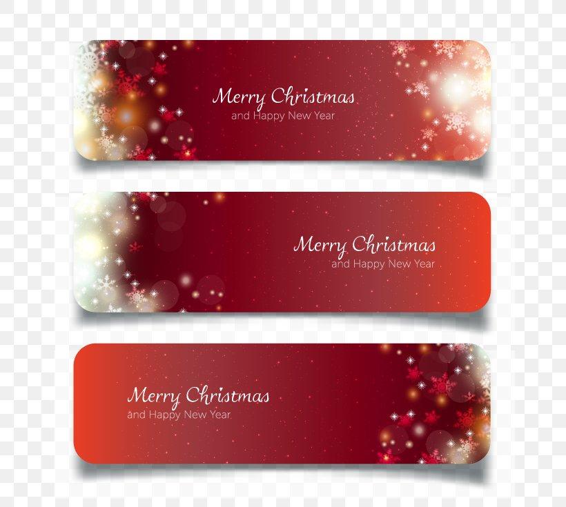 Christmas Banners.Web Banner New Year Christmas Png 700x735px Christmas