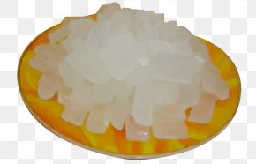 A Dish Of White Sugar - Rock Candy Sugar White Dish PNG