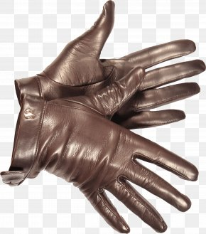 Leather Gloves Image - Driving Glove Leather Fashion Accessory PNG