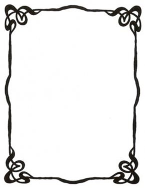 Cool Borders To Draw - Picture Frame Free Content Clip Art PNG