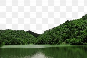 Daming Lake Scenery - Daming Lake Thousand Buddha Mountain PNG
