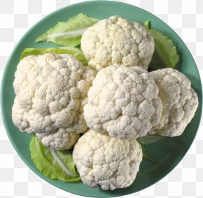 Cauliflower - Cauliflower Chinese Broccoli Vegetable Rapini PNG
