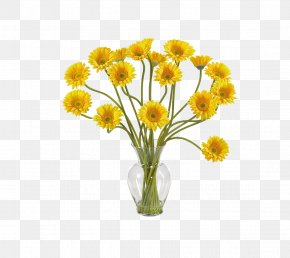 Vase - Transvaal Daisy Floristry Artificial Flower Silk PNG