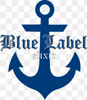 Blue Label - Wall Decal Bumper Sticker Paper PNG