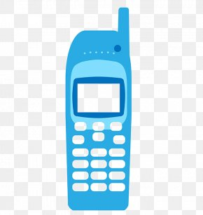 Mobile Phone Icon - Feature Phone Telephone Signal Icon PNG