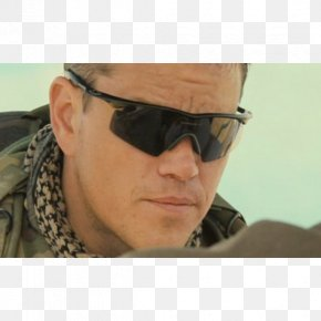 Sunglasses - Green Zone Matt Damon Iraq War Sunglasses Film Director PNG