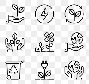 Ecological Environment - Drawing Icon Design PNG