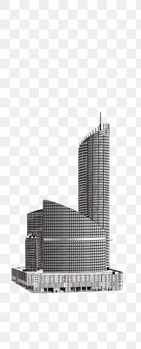 World Skyscrapers - Skyscraper Black And White PNG