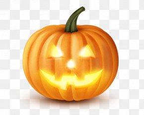 Pumpkin Lantern - Jack-o'-lantern Halloween Pumpkin Pie Clip Art PNG
