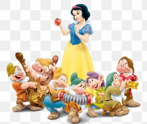 Snow White Transparent Image - Snow White Queen Seven Dwarfs Dopey PNG