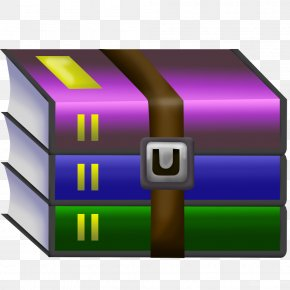 Winrar - WinRAR File Archiver Data Compression Computer Software PNG