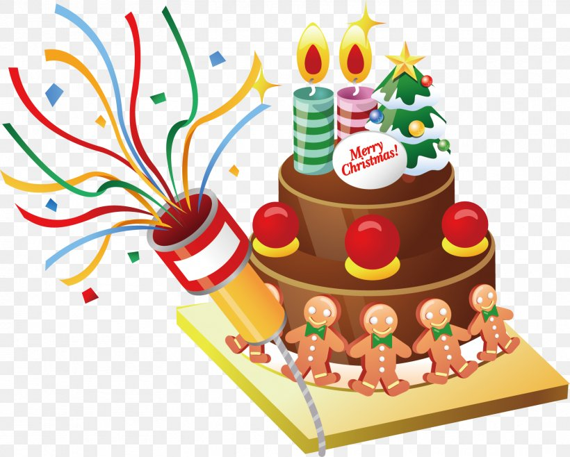 Cartoon Christmas Cake Vector Material, PNG, 1772x1422px, Christmas Cake, Baked Goods, Baking, Birthday, Birthday Cake Download Free