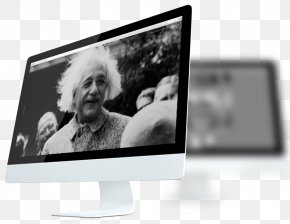 Albert Einstein Hair - Computer Monitors Multimedia Product Design Brand PNG
