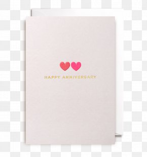 Happy Anniversary Romantic - Greeting & Note Cards Illustrator Lagom Design Anniversary PNG