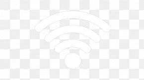 Wifi Icon - Line Black And White Angle Point PNG