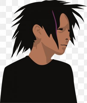 T-shirt - T-shirt Clothing Black Hair Clip Art PNG