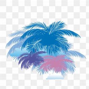 Coconut Tree Background Vector - Arecaceae Coconut Tree PNG
